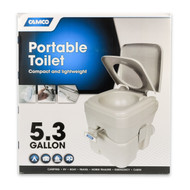 Camco Portable Toilet, 5.3 gal