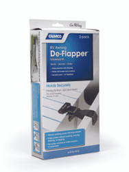 Camco Awning Fabric Clamp - De-Flapper - 2 pack