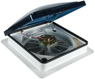 Fan-Tastic Roof Vent - Model 6000 Smoke with Rain Sensor