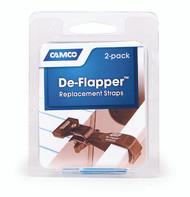 "Camco De-Flapper Straps 1""x13"", 2 pack"