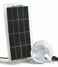 Camco Solar Panel and Fan for Refrigerator Vent (up to 3 watts)