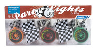 Camco Party Lights - Race Flags and Tires