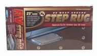 "Camco RV Entry Step Rug, XL Brown 23""W x 22""L"