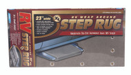 "Camco RV Entry Step Rug, XL Gray 23""W x 22""L"