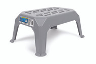 Camco Step Stool, Plastic, Small Gray
