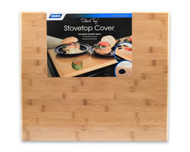 "Camco Universal Silent Stove Top, Bamboo 19-1/2"" x 17"" x 3/4"""
