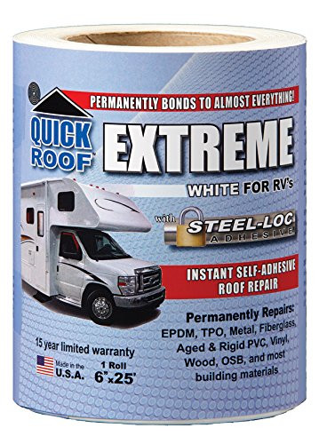 UBE625 Extreme Roof Repair White CoGair Quick Roof
