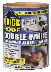 WRQR12100 Quick Roof Double White Rubber Roof Repair