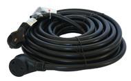 Cynder Black Power Cord w/ Handle 50'