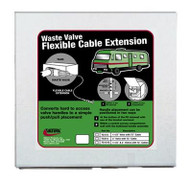 "Valterra Flexible Cable Kit, 72"", with 1-1/2"" Valve, Boxed"