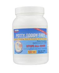 Valterra Potty Toddy Tabs - 50/Bottle