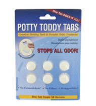 Valterra Potty Toddy Tabs - 6/Card