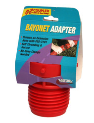 Valterra EZ Coupler Bayonet Fitting, Red, Carded