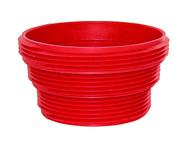 Valterra EZ Coupler Sewer Thread attachment, Red, Bulk