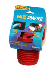 Valterra EZ Coupler Valve Adapter, Red, Carded