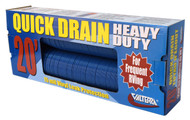 Valterra Quick Drain Hose, HD, 20', Blue, Boxed