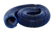 Valterra Quick Drain Hose, Std., 20', Blue, Bagged