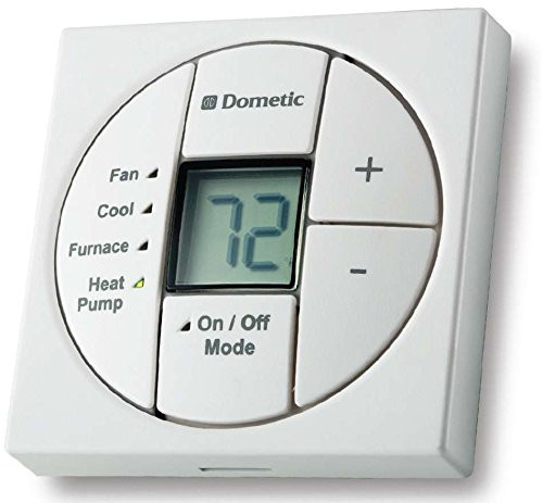 Dometic Thermostat - Single Zone - Lcd - Control Kit - White