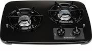 Suburban Cooktop - 2 Burner - Drop In - Black