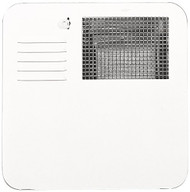 Suburban Water Heater Door - Polar White