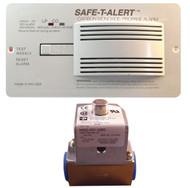 Safe-T-Alert Carbon Monoxide/LP Leak Detector with Solenoid Kit - White