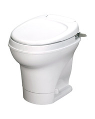 Thetford Aqua Magic High Profile with Hand Flush Toilet - White