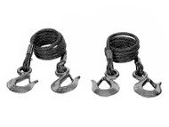 Blue Ox Safety Cables 10,000lb Rated - 7 Foot - Set of 2