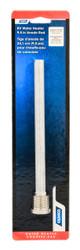"Camco Water Heater Anode Rod .75"" Dia 9.5"" Long Alum (Suburban, MorFlo)"