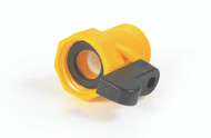 Camco Fresh Water Garden Hose Shut Off Valve - Straight - Plastic
