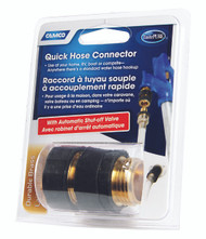 Camco Fresh Water Quick Hose Connector - Brass
