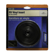 "Camco Vinyl Trim Molding Insert 1"" x 25' Brown"