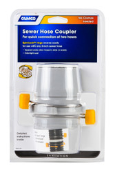 Camco RV Sewer Easy Slip Internal Hose Coupler