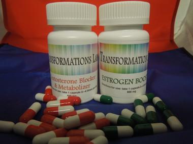 Estrogen pills for transgender