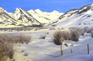 """Moraine Valley Cubed"" Lyse Dzija 24x36"