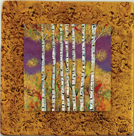 "Aspen Tile 02 by Kenarov Art, 10""x10"" ready to hang."