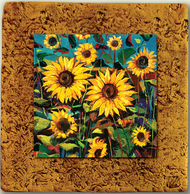 "Countryside Tile 04 by Kenarov Art, 10""x10"" ready to hang."
