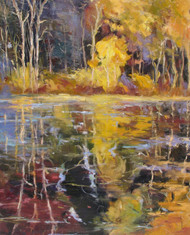 """Golden Reflections"" Tim Howe 48x36"