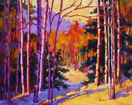 """Autumn Wood"" Coni Grant 16x20""."