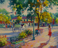 """Sunday Afternoon (Scene of Estes Park)"""