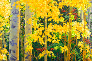 """Autumn Berry (Beautiful Colorado)"" Stanislav Sidorov 24x36"