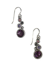 Encore Earrings in Purple Rain by Patricia Locke