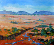 "Original painting by Cindy Carrillo, ""Desert Breeze"", Oil, 20x24"