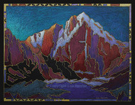 """Spectral Light — Longs Peak"" by Lou Renner 16x20"