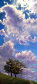 """Victory of the Sun Over the Clouds"" Lyse Dzija 16x36"