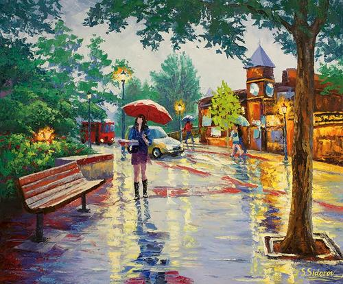 """After the Rain, Estes Park"" Stanislav Sidorov 20x24"