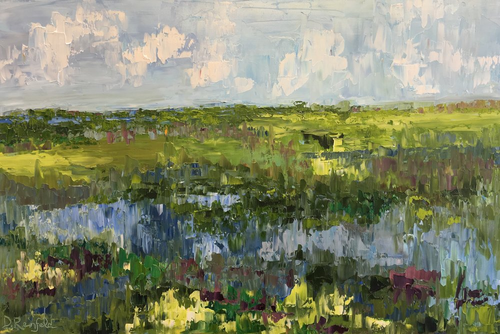 """Reflections of Summer"" by Dawn Reinfeld 24x36"