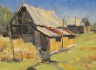 """Abandoned Barn"" George Coll 9x12"