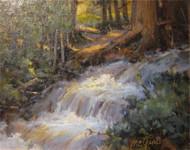 """""""Spring Runoff, Wild Basin"""" Margaret Jensen 8x10"""