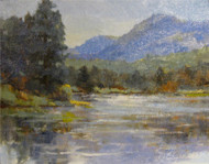 """Sprague Lake, Rocky Mountain National Park"" Margaret Jensen 8x10"