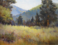 """Hallowell Park, Rocky Mountain National Park"" Margaret Jensen 8x10"